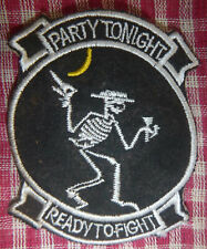 Mr Bones - Patch - PARTY TONIGHT, READY to FIGHT - 13th BS - Vietnam War - 1934