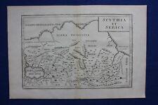 More details for original antique map asia, 'scythia et serica', caspian sea, cellarius, 1799