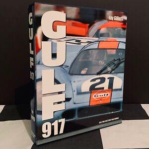 PORSCHE GULF 917 BOOK DALTON WATSON 917K STEVE McQUEEN LE MANS JWAE JO SIFFERT