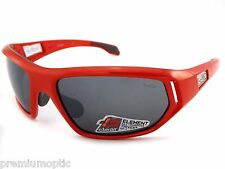 BOLLE Sunglasses CERVIN 11587 Shiny Red / TNS Grey Silver Mirror Anti Fog CAT 3