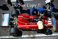 Niki Lauda Ferrari 312 B3 Belgian Grand Prix 1974 Photograph