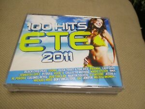 "COFFRET 5 CD ""100 HITS - ETE 2011"""