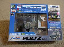 Tomy Tomica Bit Char-G Netz Toyota Voltz Micro RC car.  Super Rare.