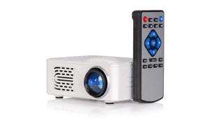 LTC Led-Video-Projektor VP30-BAT Battery Remote Control USB / Tf/Av-Eingänge