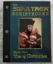 THE STAR TREK SCRIPT BOOK One THE Q CHRONICLES - Pocket Books 1998