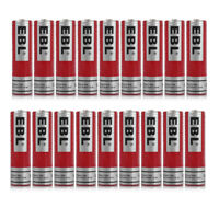 EBL 3.7V 18650 3000mAh Li-ion Rechargeable Batteries for Flashlight Torch USA