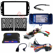 Radio Replacement Interface & 2-Din Dash Install Kit & w/Steering Control Retain