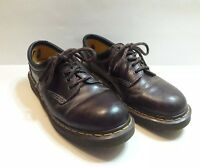 Dr Martens Men's Dark Brown Leather Oxford 8053 Lace Up Shoes Size 11