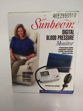 Sunbeam Digital Blood Pressure Meter Monitor #7622
