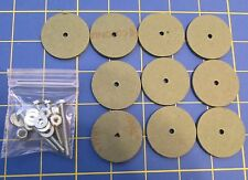 """For Jointed Teddy Bear = 10 – 1 1/2"""" Hard Board Discs – with Tap Bolt Sets"""