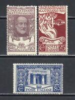 Italy Stamps # 140-2 OG NH Fresh