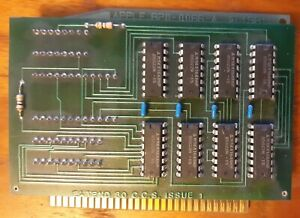 1981 Apple IIe 80 Column Card 820-0066-A with Extend 80 C.C.S. Issue 1 add on ii