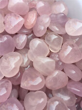 Wholesale 7-9pcs 1/2lb Rose quartz Heart Crystal Mineral Specimen Madagascar