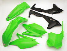 Kawasaki KXF 250 2017 UFO Motocross Plastic Kit PRO Circuit Colours Black Green