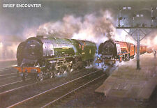 """Hornby Dublo in Railway Art """"Brief Encounter"""" No. 20 Signed & Numbered"""