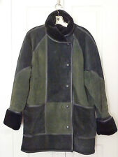 BEAUTIFUL GENTLY WORN 100% SUEDE LEATHER DENNIS BASSO JCK/COAT, GREAT CONDITION!