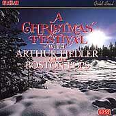 Arthur Fiedler, Boston Pops:  A Christmas Festival (Cassette, RCA Gold Seal) NEW