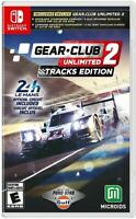 Gear Club Unlimited 2 - Tracks Edition for Nintendo Switch [New Video Game]