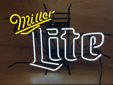 "New Miller Lite Beer Logo Neon Light Sign 20""x16"""
