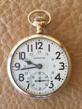 Hamilton 16s 23j 950B W/24 Hour Dial Sharp! (A133)