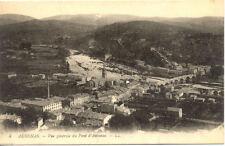 AUBENAS 4 LL vue générale du pont d'aubenas