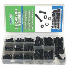 Hardware Machinery 160pc METRIC Hex Screw Assortment Hardware Kit MM 68115