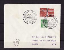 ec62/ Enveloppe     exposition  sport  RAMA   le Havre    1962