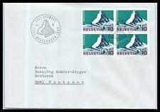 1965 SWITZERLAND Cover - Swiss Alps, Matterhorn, Zermatt F11