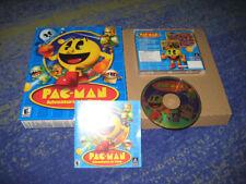 PAC Man Adventures in Time con menos frecuencia juego pasaporte con Pac Man en Big Box coleccionista