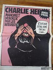 CHARLIE HEBDO N° 712 NUMERO SPECIAL BEL ETAT COMPLET CABU