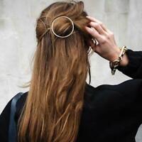 Women Geometric Hair Clips Barrettes Accessories Pins Clip N1 Elegant Faste A9P6