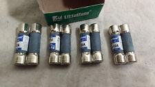 Lot of 4 Littelfuse FLA12 Midget Fuses, 12A, 125V