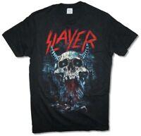 Slayer Bloody Rain Demon Skull Black T Shirt New Official Band Merch