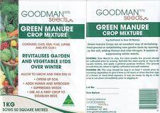 green manure crop 1kg rejuvinate garden beds, vegetables gardening
