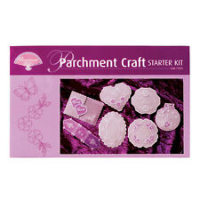 Pergamano Parchemin Craft Starter Kit-Contains Paper, outils, Stylo & Plus