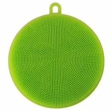 Silicone Dish Washing Cleaning Brush Sponge Kitchen Cleaner Pad Scrubber Tool