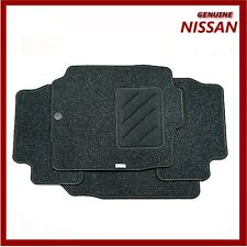 Genuine Nissan Micra Car Floor Mats Textile Front & Rear Set of 4 KE755AX631NF