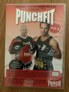 Punchfit Vol 2 - Learn How To Do Kickboxing Padwork By Bruce Townhill DVD