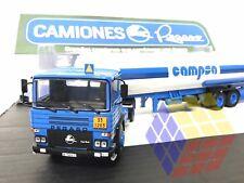 Pegaso 1231T + Semi remorque Cisterna Cuba CAMPSA (1/43) Camión Truck Camions