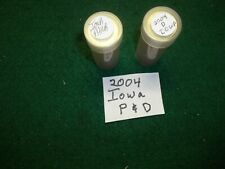 Two Rolls of Iowa  State Quarters Uncirculated P & D