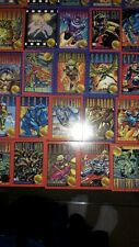 Lot of 140, 1993 Marvel X-Men Trading Cards, Mixed Lot,1 Holograph Hall of Fame+