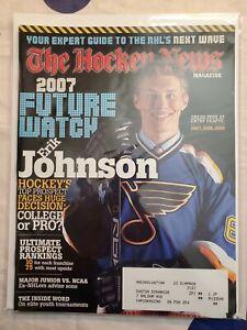THE HOCKEY NEWS 2007 Future Watch Erik Johnson St. Louis Blues