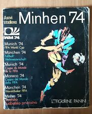MUNICH 74 FIFA WORLD CUP 1974 complete album Munchen Germany Panini