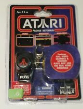 Atari Paddle Keychain Pong Breakout Warlords 3 Games In 1 Brand New