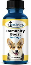 Immunity Boost for Dogs Supplement – Strengthens Respiratory & Immune System