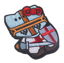 Warrior Hello Kitty x Crusader Tactical Morale Hook Patch Embroidered Badge