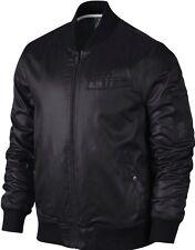 Men's Nike Jordan AJ Flight Bulls Jacket Size XL Bomber Leather $150 645015 NWT