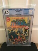 The New Teen Titans 2 CGC Rare newsstand
