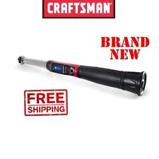 CRAFTSMAN 1/2 inch Dr Digi-Click DIGITAL TORQUE WRENCH 25-250 ft lbs Drive click