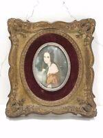 Vintage A Cameo Creation Lady Hamilton Portrait Wall Plaque